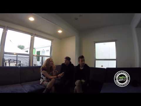 Twenty One Pilots Interview at Music Midtown
