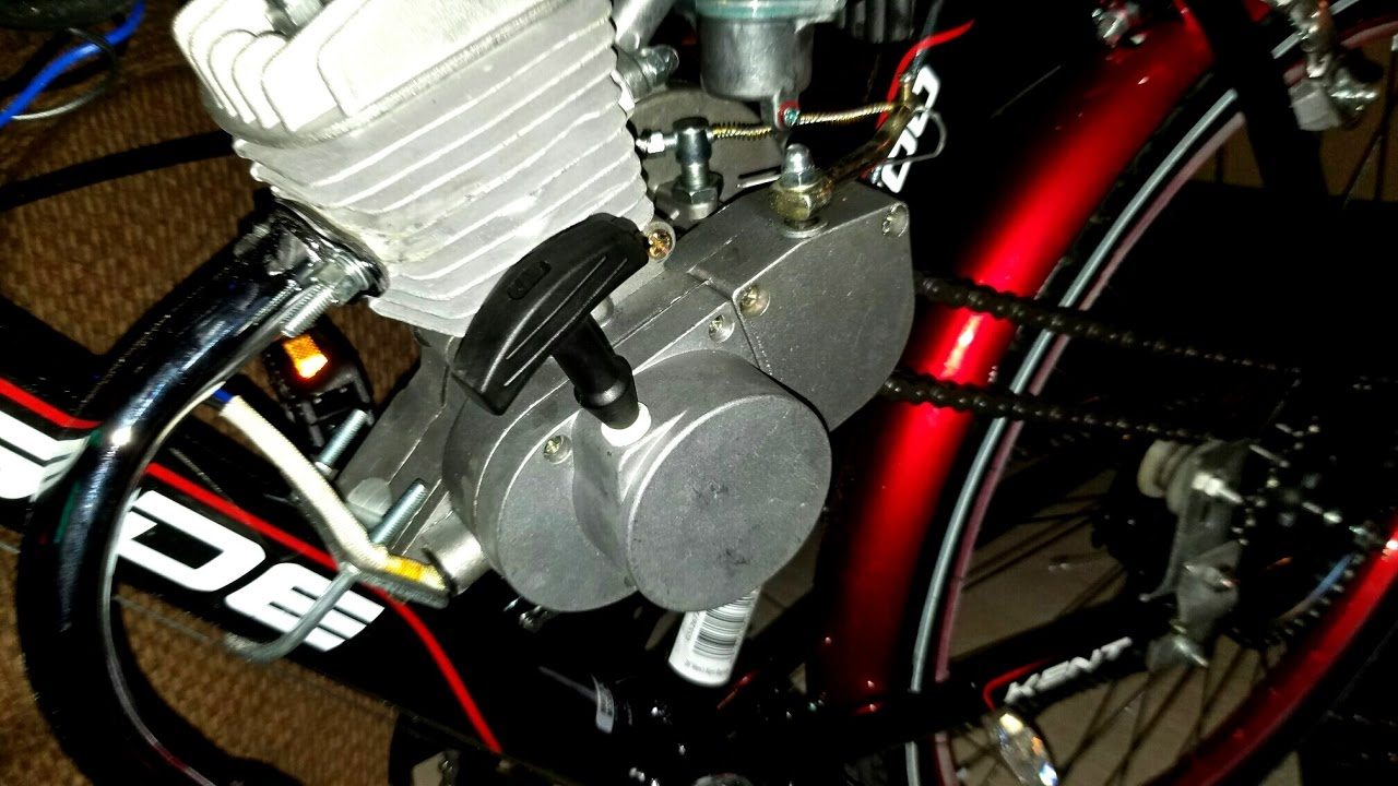 How To Add a Pull Starter On a Chinese 80CC Motor!