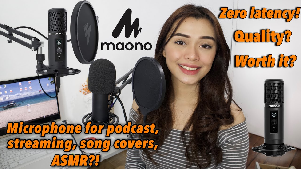 Download MAONO AU-PM422 Condenser Microphone - Review (Unboxing,Audio Test,Setup)