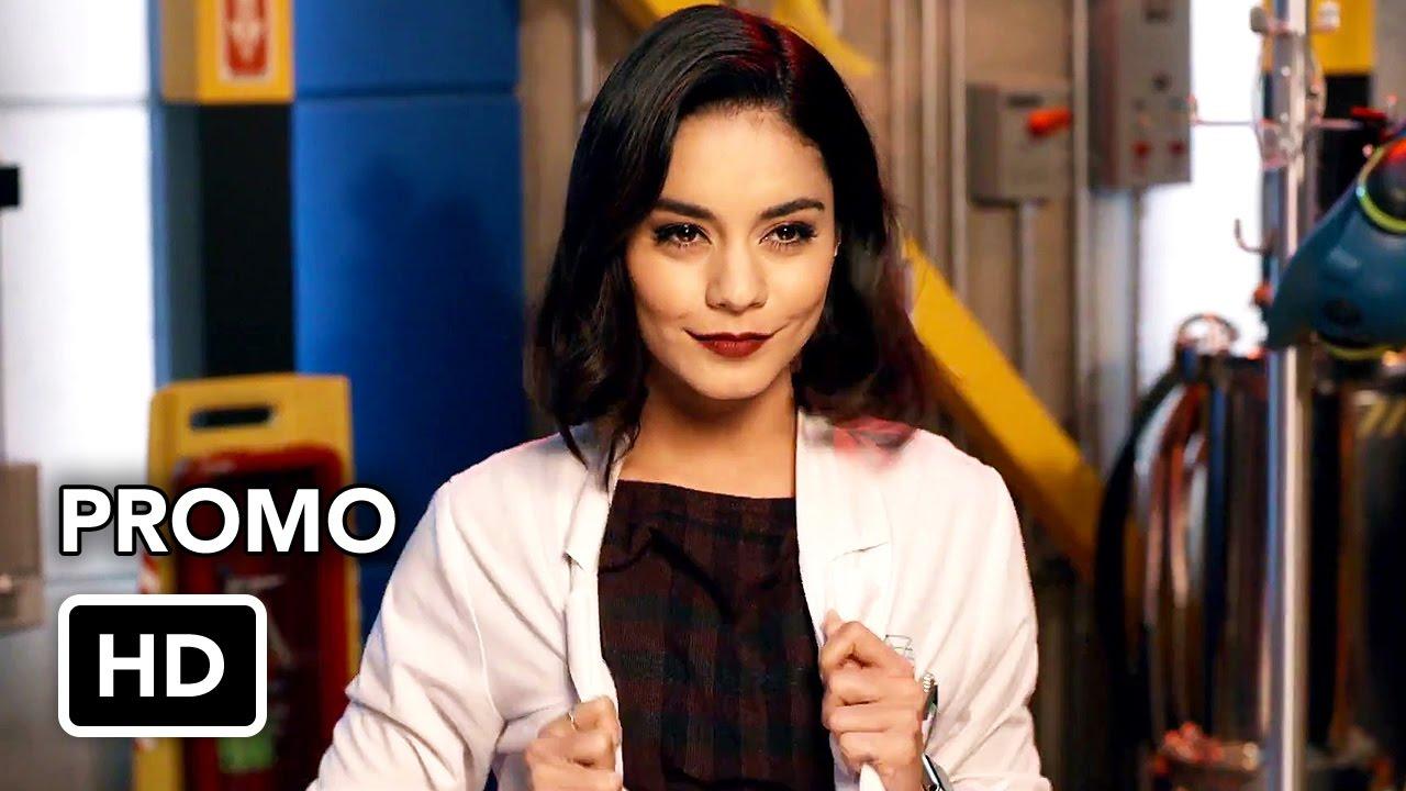 "Download Powerless (NBC) ""Team Wayne Security"" Promo HD - Vanessa Hudgens comedy series"