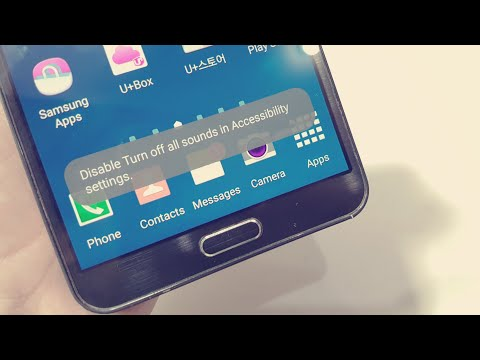 🔇 Fix Disable Turn off all Sounds in Accessibility settings - How to Fix no sound in Samsung