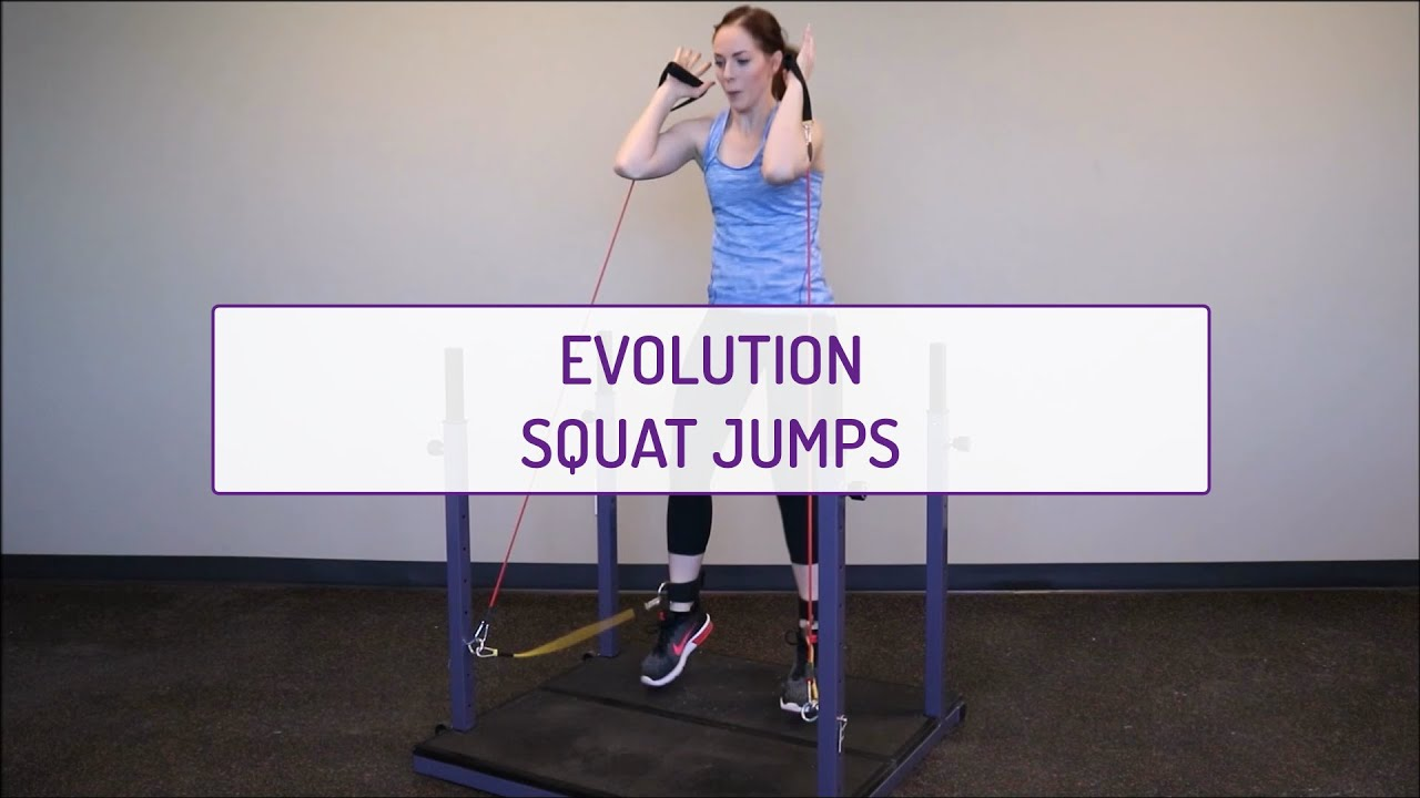 Home Exercises | Evolution Squat Jumps | Strength & Cardio | Legs