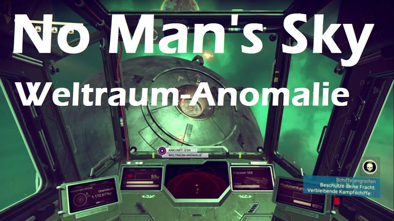 No Man's Sky - Weltraum-Anomalie [Spoiler] - Deutsch - YouTube