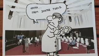 Hithit.cz - Pavel Kantorek Jahr comics Professor Kraus