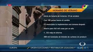 HORARIO DE INVIERNO
