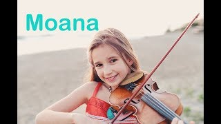 Download lagu Moana (How Far I'll Go) - Karolina Protsenko - Violin Cover At The Ocean
