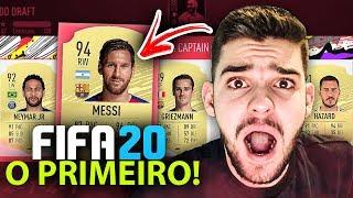 ÉPICO!! MEU PRIMEIRO FUT DRAFT no FIFA 20!! REI DO DRAFT o RETORNO!!