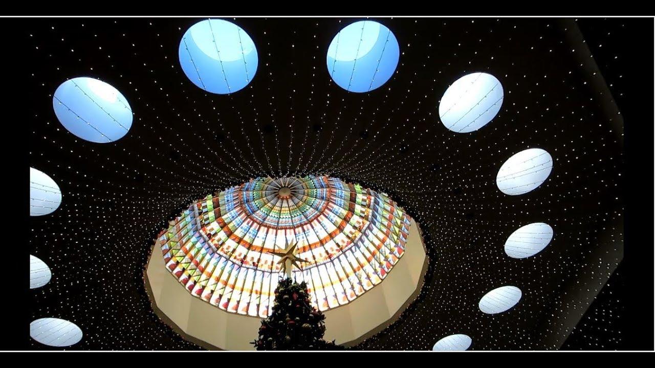 Happy New Year 2104 - Giant Christmas Tree at South Coast ...