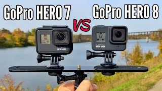 GoPro 8 Black VS GoPro 7 Black - Comparison!