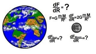 Physics - Mechanics: Gravity (9 of 20) Tidal Force