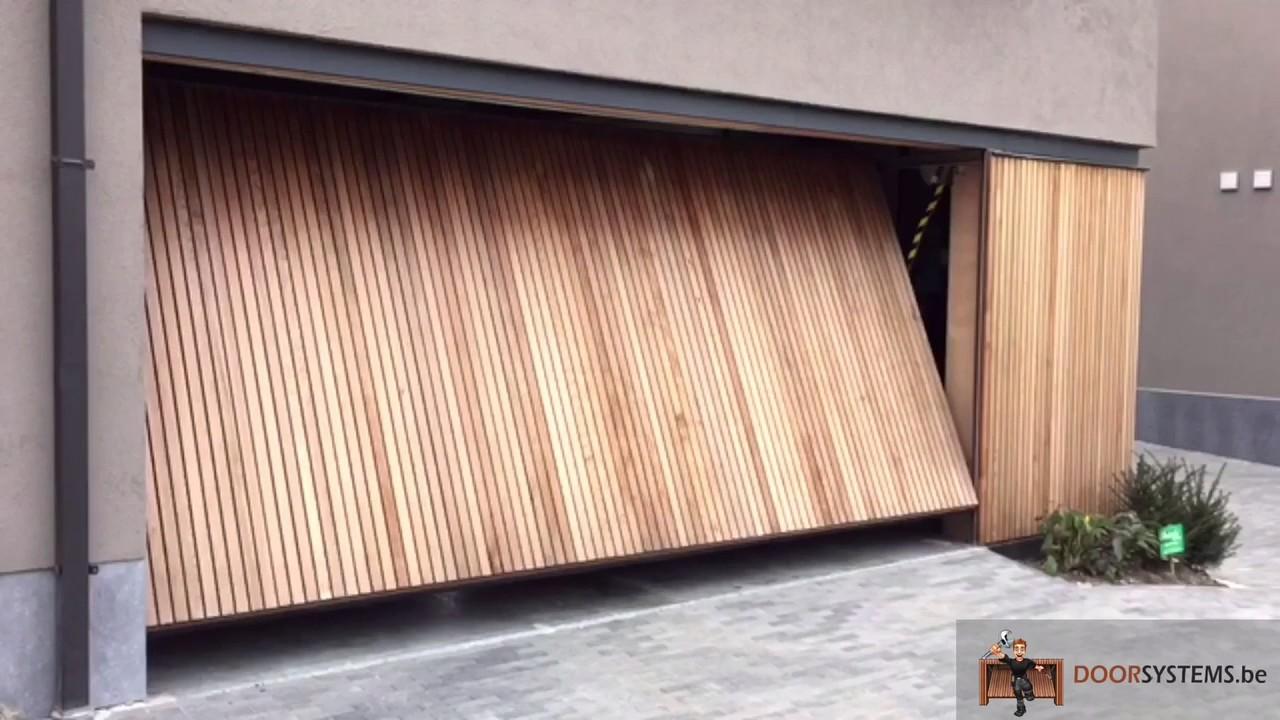 Garage Door Vertical Wood Youtube