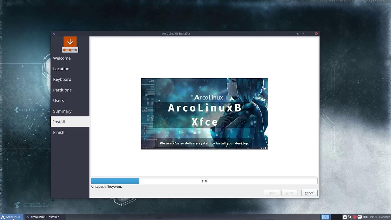 BYOI on ArcoLinux – Xfce Minimal | Arcolinuxb com