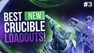 Destiny: BEST NEW WEAPON LOADOUTS! #3 (Tlaloc & Havoc Pigeon)