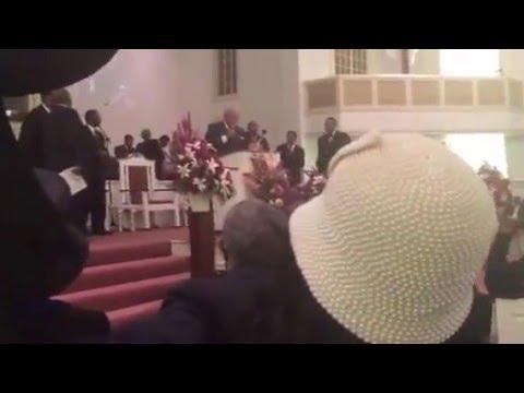 REV. CHARLES KNIGHT PREACHING