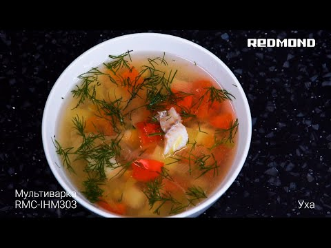 Ароматная уха в мультиварке. Рецепт супа в индукционной мультиварке REDMOND RMC-IHM303