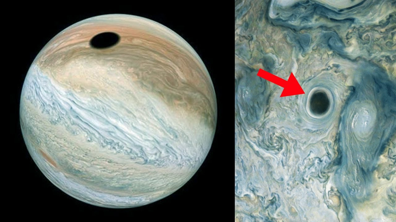 NASA Can't explain this Mysterious Hole Found on Jupiter