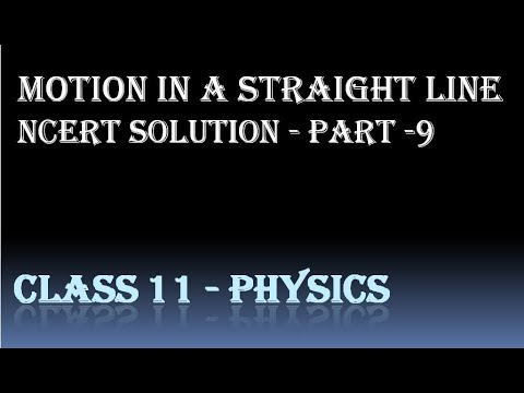 ncert solutions for class 11 physics chapter 3