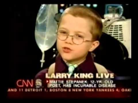 Mattie Stephanek on Larry King Live II