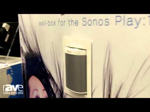 CEDIA 2015: Thenos Showcases PlayBox In-Wall Enclosure For Sonos Play:1