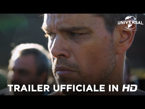 JASON BOURNE di Paul Greengrass con Matt Damon - Trailer italiano ufficiale