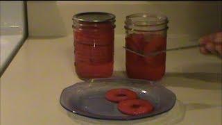Canning Spiced Apple Rings