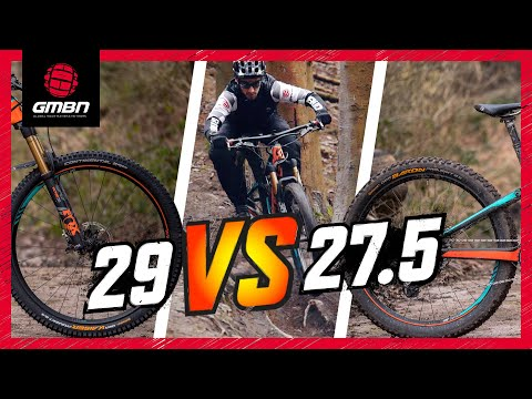 27.5' Vs 29' Mountain Bike Wheels | The Wheel Size Debate Continues