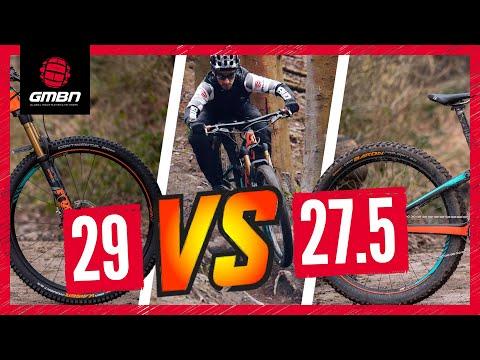 "27.5"" Vs 29"" Mountain Bike Wheels | The Wheel Size Debate Continues"