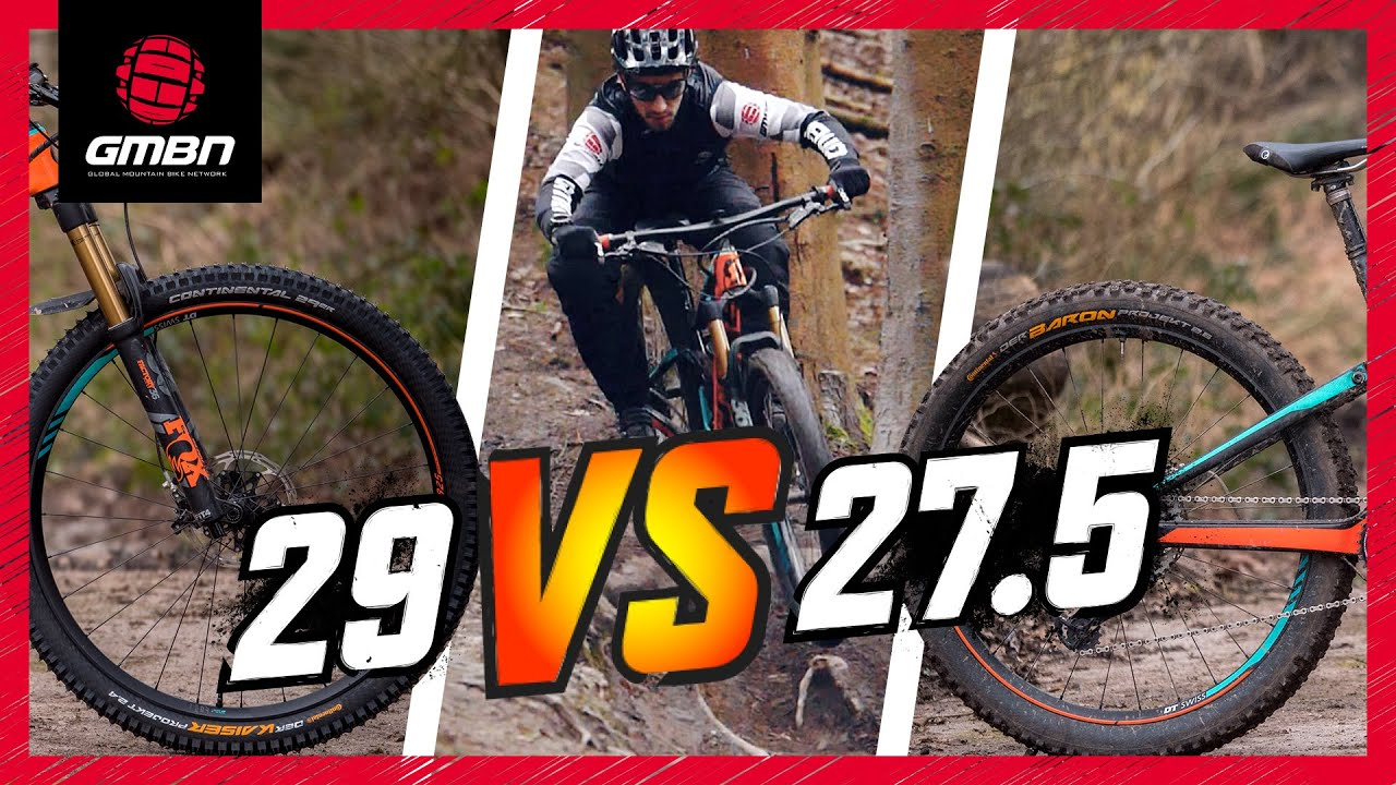 27 5 Vs 29 Mountain Bike Wheels The Wheel Size Debate Continues