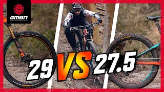 27.5\ Vs 29\ Mountain Bike Wheels The Wheel Size Debate Continues