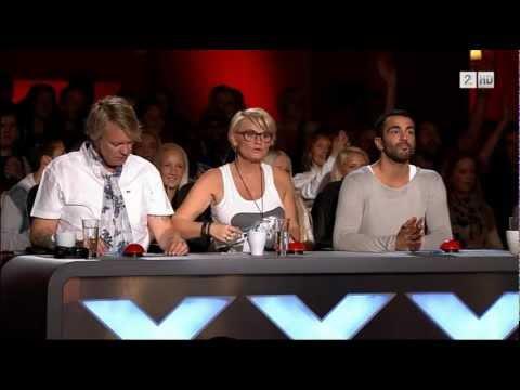 "Norske Talenter 2012 - ""Vidar"" Rubiks Kube - Audition HD"