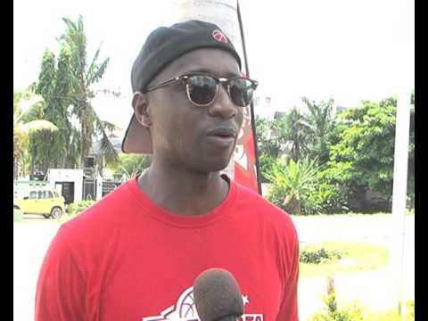 Karabani swahili interview - Vs Malawi Post games