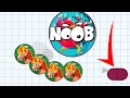 Agar.io Red Dragon Epic Steal Solo vs Team Take Over Agar.io Best Moments Mobile!