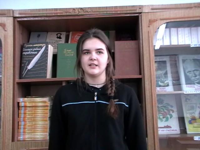 Изображение предпросмотра прочтения – ЮлияШурховецкая читает произведение «Она сидела наполу…» Ф.И.Тютчева