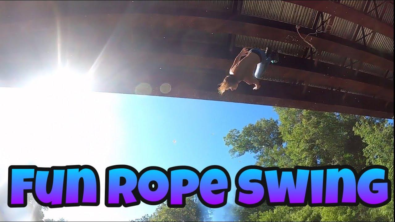 SLBC Rope Swing Part 2 - YouTube