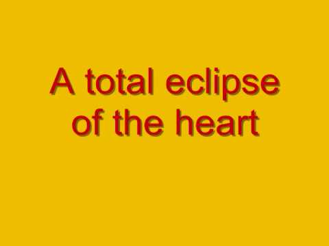 Glee, Total Eclipse Of The Heart With Lyrics