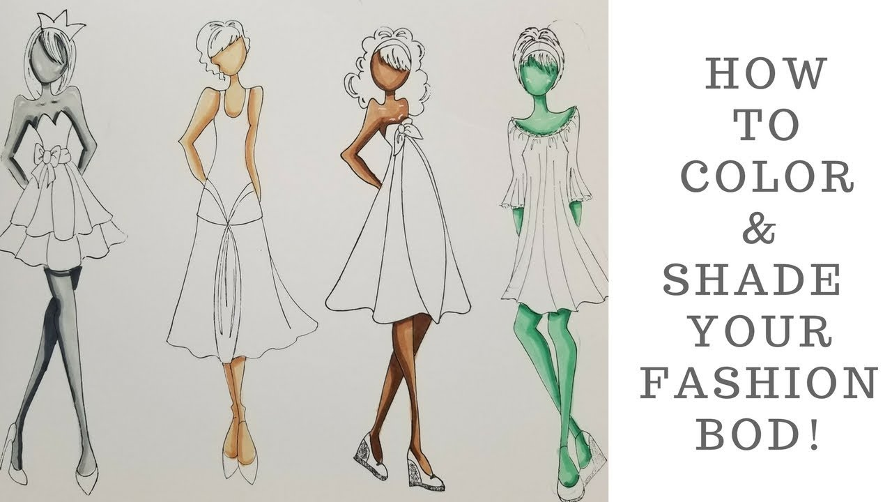 Fashion illustration how to 37