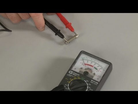 View Video Microwave Oven Fuse Testing