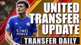 Manchester United make £80m final bid for Maguire! Man United Transfer News