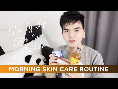 Morning Skin Care Routine 2017   How To Get Flawless Skin #PaanoKuminisSeries