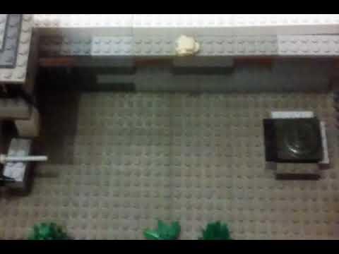 Лего самоделка сталкер НИИ огропром первая часть 1