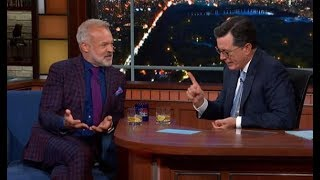 ✅  WATCH: 'It is just bedlam' - Graham Norton hilariously explains Brexit to Stephen Colbert - Indep