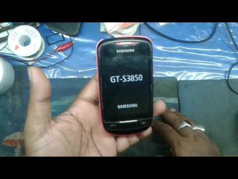 GT- S3850 hard reset