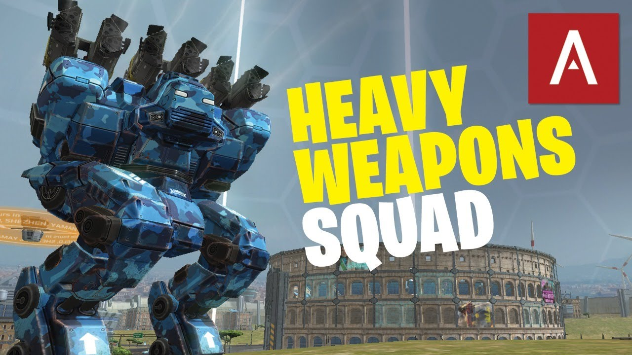 🔴 War Robots - HEAVY WEAPONS SQUAD with Clan VØX WR Live Gameplay