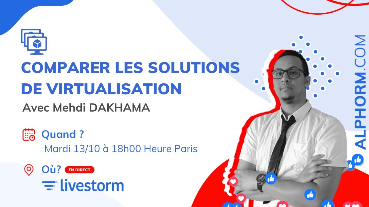 Webinar introduction à la virtualisation