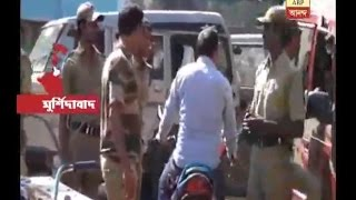 Gambar cover Clash between public and police at Murshidabad's Bharatpur police station area