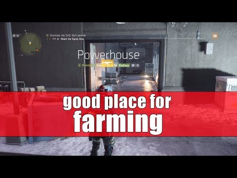 Tom Clancy's The Division - Resistance PowerHouse - Good Place for Farming Classified Gear