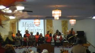 "GOGBC Singing ""Holy One"" by Straight Gate Mass Choir"