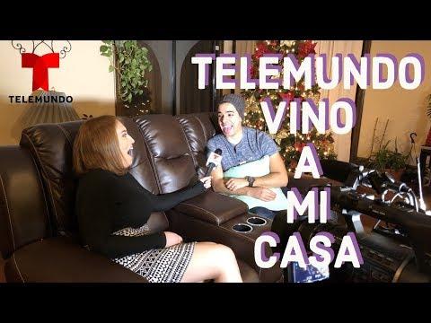 TELEMUNDO VINO A MI CASA / La Vida de Javierhalamadrid