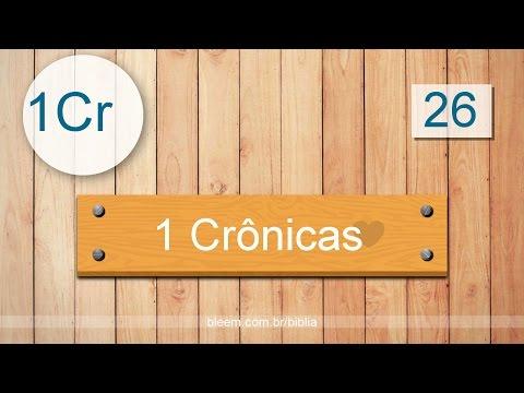 1 Crônicas 26 - Bíblia em Audio - ARC