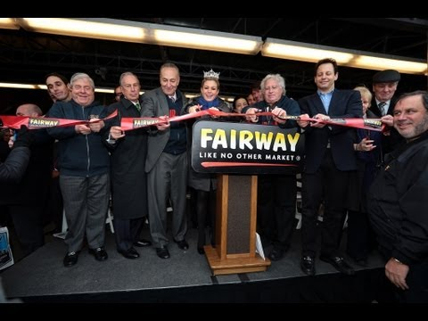 Mayor Bloomberg Speaks at the Reopening of Fairway Red Hook